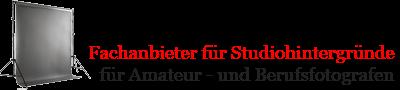 Photobackground - Fachanbieter für Studiohintergrund, Hintergrundkarton, Fotostudioeinrichtung-Logo